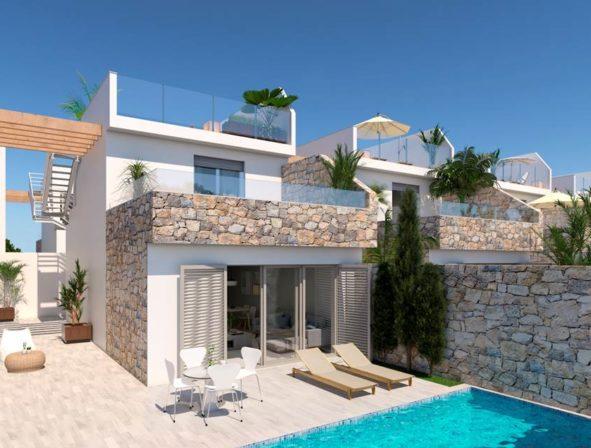 villas bord de mer immo espagne. Black Bedroom Furniture Sets. Home Design Ideas
